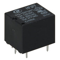 View HF3FF-012-1ZST: 12VDC SPDT Relay (Power)