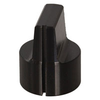 View KCB600B1/8: Smooth Cylindrical Switch Knob