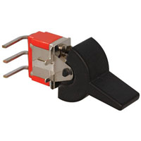 View A101J1ZQO: SPDT Right Angle Rocker Switch