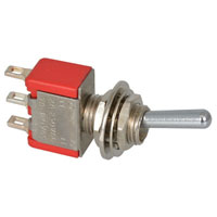 View 7108SYZQI: SPDT Toggle Switch 5A 120V Rating: 5A @ 120