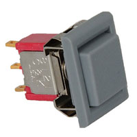 View 8121J81ZGE99: SPDT Pushbutton Switch 1A 120VAC (Push Button)
