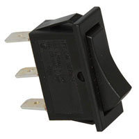 View CM101J12S205QA: SPDT Rocker Switch 125VAC 16A Rating: 16A @ 125V