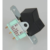 View MHL106D10MO: SPDT Rocker Switch 125V 6A
