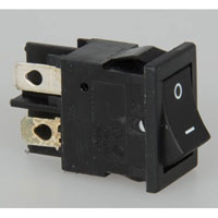 View SE-W202A-3BB2: Dpst Rocker Switch 125V 6A (Toggle)