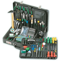 View 1PK-700NA: 65 Piece Master Electronics Tool KIT 5 Inch Side Cutter