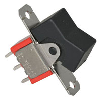 View 7101J1ZQ2: SPDT Rocker Switch 5A 120VAC