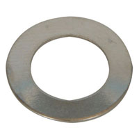 View S1022-1: Nickel Plate Flat Washer ID X Od: 3/8 X 5/8 &Quot;
