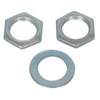 View M9HDWR: Assembly Hardware 2 Hex Nuts, Metric Sized