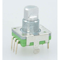 View RE11LF-40B1N-10F-15P: Rotary Encoder Switch 30 Detents (Incremental)