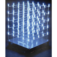 View K8018W: 3D LED Cube 5 X 5 X 5 (White LED) Cubeanimator 1.4 for Windows