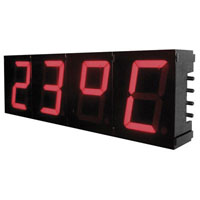 View K8089: 2-1/4 Inch 7 Segment Digital Clock Kit 12/24H Clock System