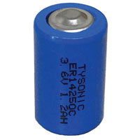 View LS14250: Non-Rechargeable Lithium Battery -1/2AA
