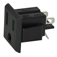 View NEMA-5-1-B: 15A Female AC Nema Receptacle (Power Connectors)