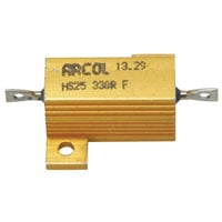 View HS25 330R 1%: 330ω Aluminum Housed Wirewound Resistor Resistance: 300Ω