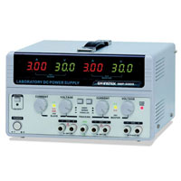 View GPS-3303: Triple Output DC Power Supply Four 3 Digit LED Displays