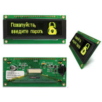 View NHD-2.8-25664UMY3: 2.8 Inch Organic LED (OLED) Module (OLED Displays)