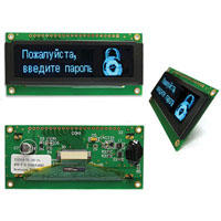 View NHD-2.8-25664UMB3: 2.8 Inch Organic LED (OLED) Module (OLED Displays)