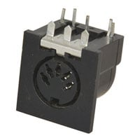 View SOCK-RA-5: Socket STD DIN Female 5 PIN (Circular Connectors)