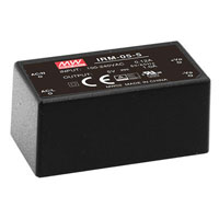 View IRM-05-24: AC to DC Power Supply Encapsulated Single Output 24 Volts 0.23 Amps 5.52 Watts
