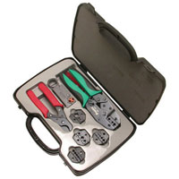 View 500-001: Coaxial Crimping Tool Kit Crimper Tool