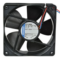 View 4214NHHR: 24VDC Axial Fan 120X120X38MM