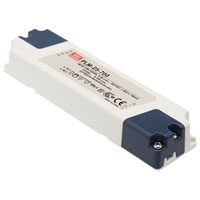 View PLM-25-350: AC to DC Switching LED Power Supply Single Output with PFC Function 42-72 Volts 0.35 Amps 25.2 Watts