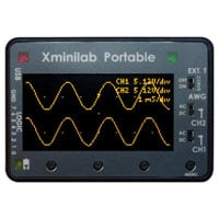 View GT-0015: Xminilab Portable Small Mixed Signal Oscilloscope