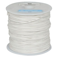 View 818-9-500: 500 Ft 22 AWG Dual-Rated Stranded Hook-Up Wire -White