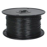View 820-0-500: 500 Ft 20 AWG Dual-Rated Stranded Hook-Up Wire -Black