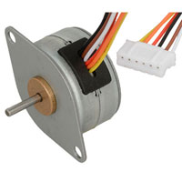 View 25BY4801: 4 Phase Unipolar Stepper Motor Rated Voltage: 5VDC