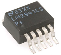 View LM2941CS: Linear Adjustable Low Dropout Voltage Regulator