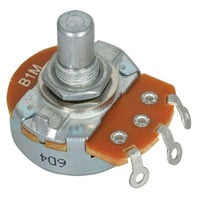 View 31VA601-E3: Potentiometer 1M RV24AF-10-15R1 B1M Linear Taper