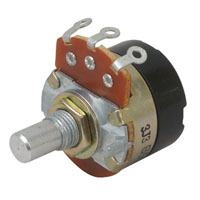 View 31VM501-F3: Potentiometer 100K RV24A01F10-15R1 B100K Linear with Switch 1/2 Watt .335 Inch