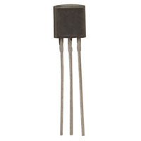 View PN2907: Transistor General Purpose BJT PNP 40 Volt 0.6 Amp 3 Pin TO-92 (Bipolar)