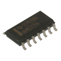 View SN74AHC14D: Inverter Schmitt Trigger 6 Element CMOS 14 Pin SOIC