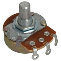 View 24N-5K-15R-R: Potentiometer Linear Taper 1/2W 5K Ohm (Resistors)