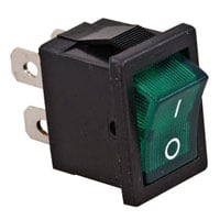 View R13-66B-G-02: Panel Mount Rocker Switch Contact Form: SPST on-Off