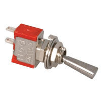 View 1MS9T6B11M1QE: Miniature Toggle Switch Contact Form: SPST on-Off