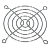 View SC80-W2: 80MM Metal Fan Guard Chrome Plated