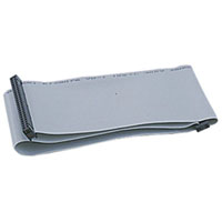 View 2101-218: Cable Socket 50 Pin Header Socket Ribbon Cable SCSI-I Gray 18 Inch Long