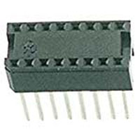 View 16S-T2WW-R: 16 Pin Machine Tooled Low Profile IC Socket 0.3 Inch Wide