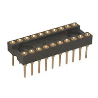 View 6100-20: 6100 Socket IC 20PIN Machine Tooled Low Profile