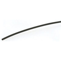 View FIT-221B-1/16-BK100: Black Polyolefin Round Heat Shrink Tubing -4 Feet
