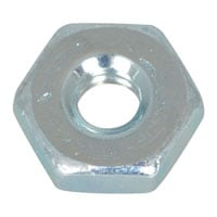View 6CNMS13: Nut Hex 6-32 Zinc Plated Steel (Hardware)