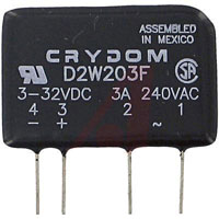 View D2W203F: 280 Volt AC 3.5A Solid State Relay