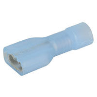 View 19003-0050: .187 Inch Connector Fully Insulated Insulkrimp Female Quick Disconnect