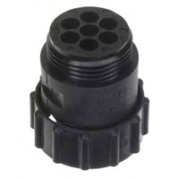 View 211400-1: Connector CPC Socket 7 Position Crimp Straight Cable Mount 7 Terminal 1 Port