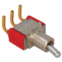 View 7101MD9ABE: SPDT Right Angle Miniature Toggle Switch