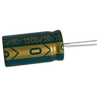 View UPW1H152MHD-VP: Capacitor Radial 1500uf 50V 20% 105C 16X30X7.5MM