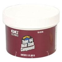 View 10-8126: Type 44 Non-Silicone Heat Sink Compound (1 Lb Jar)